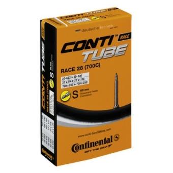 Continental belső tömlő kerékpárhoz Race 26 20/25-571/599 S42 dobozos (Egységkarton: 25 db)