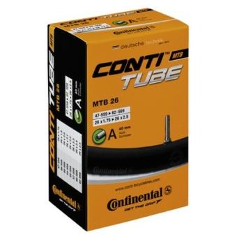 Continental belső tömlő kerékpárhoz MTB 26 47/62-559 S42 dobozos (Egységkarton: 25 db)
