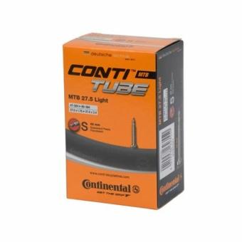 Continental belső tömlő kerékpárhoz MTB 27,5 Light  47/62-584 S42 dobozos (Egységkarton: 25 db)