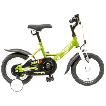 Csepel DRIFT 12 GR 17 ZÖLD-GYIKOS gyermek kerékpár - 2020