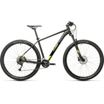 """CUBE AIM EX BLACK´N´FLASHYELLOW 29"""" Férfi MTB kerékpár 2021"""
