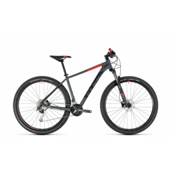 """CUBE ANALOG GREY´N´RED 2018 27,5"""" és 29"""" MTB Kerékpár"""