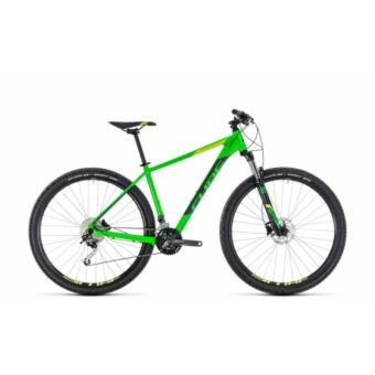 """CUBE ANALOG FLASHGREEN´N´GREY 2018 27,5"""" és 29"""" MTB Kerékpár"""