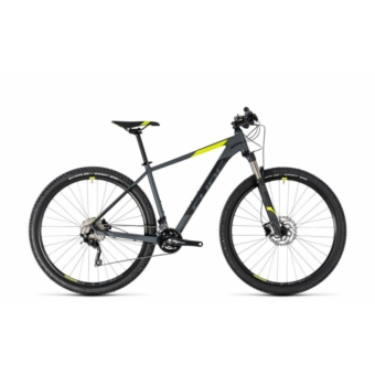 "CUBE ATTENTION SL GREY´N´FLASHYELLOW 2018 27,5"" MTB Kerékpár"