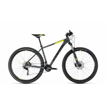"""CUBE ATTENTION SL GREY´N´FLASHYELLOW 2018 27,5"""" MTB Kerékpár"""