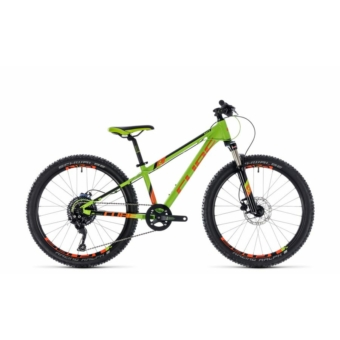 """CUBE KID 240 RACE GREEN´N´ORANGE 2018 24"""" Gyermek Kerékpár"""