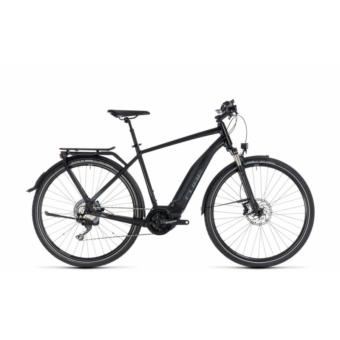 CUBE TOURING HYBRID EXC 500 BLACK´N´GREY 2018 Elektromos Kerékpár