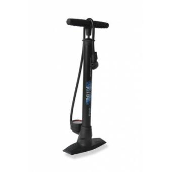 Kerékpár Pumpa Delta állópumpa 11 bar, kettos fej, fekete PU-S04