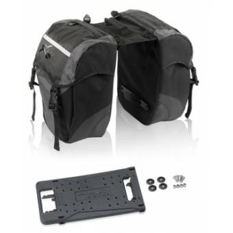 Kerékpár Táska carry more kétoldalas fekete/antracit BA-S63