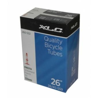 Kerékpár Tömlő/belső XLC 26 x 1.0/1.5 28/40-559 SV 32 mm 260-S40