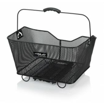 Kerékpár Kosár fekete Carry more rendszer
