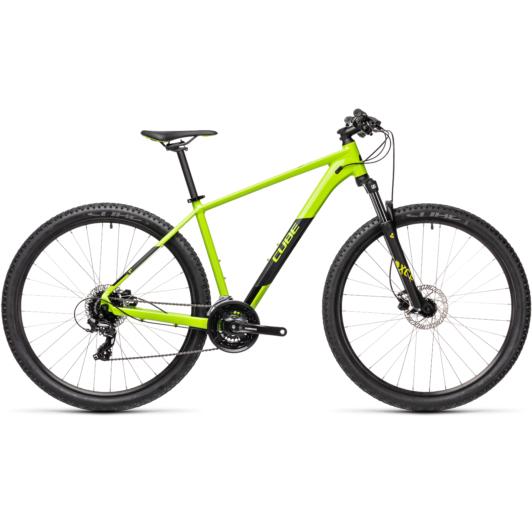"""CUBE AIM PRO GREEN´N´BLACK 27,5"""" Férfi MTB Kerékpár 2021"""