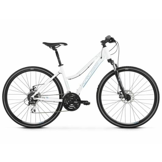 KROSS EVADO 4.0 D white / blue 2021