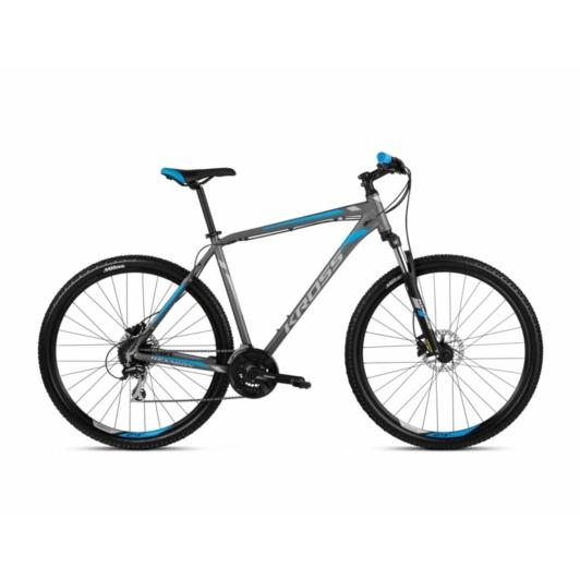 "KROSS Hexagon 5.0 27,5"" graphite / silver / blue 2021"