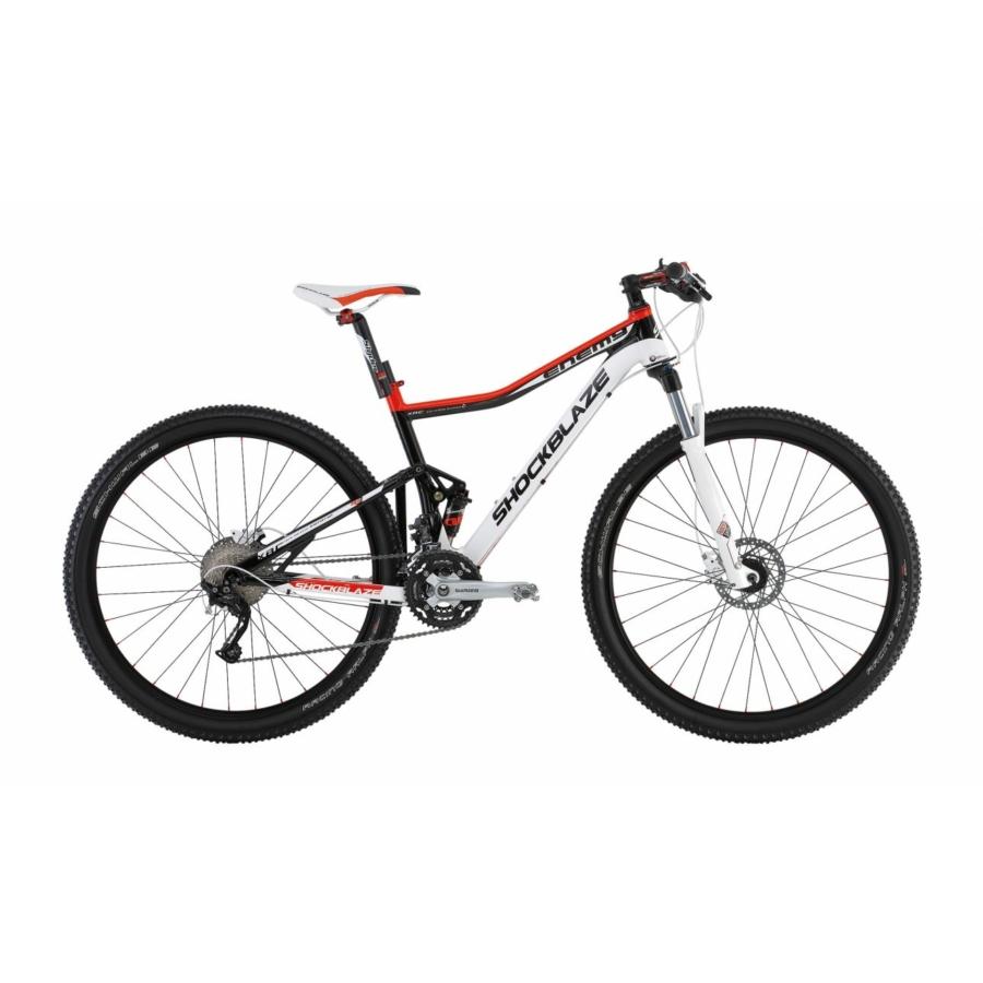 Shockblaze ENEMY RACE XT MIX Fully kerékpár