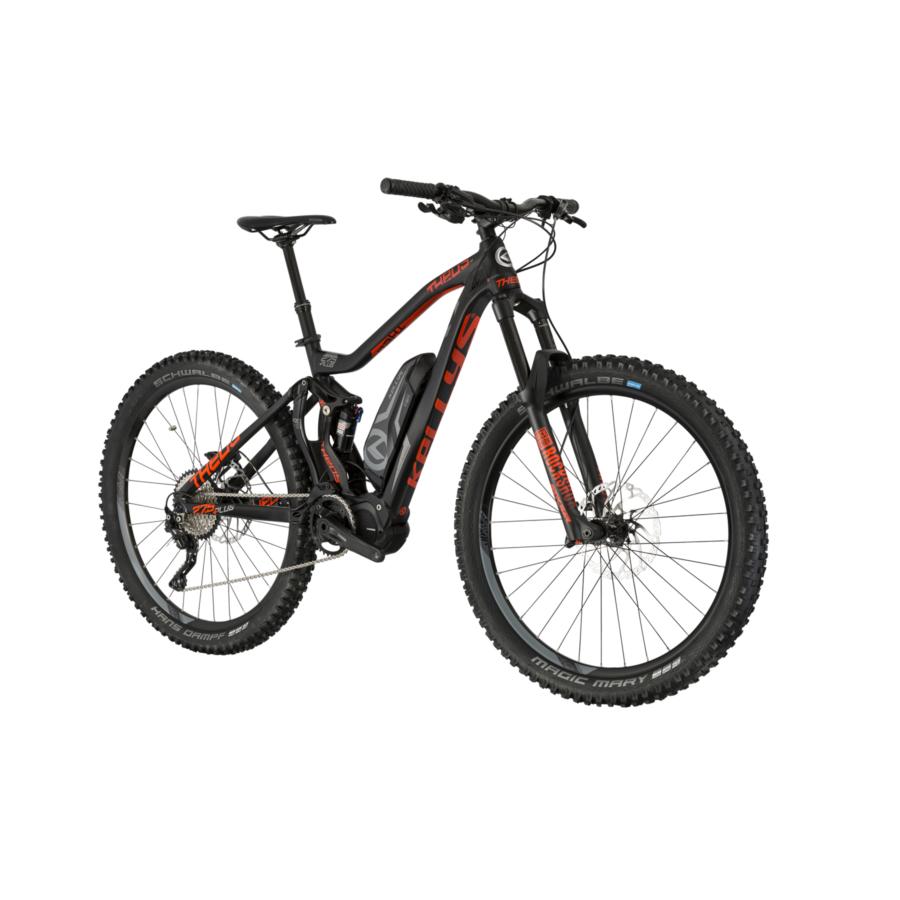 KELLYS Theos 50 27,5 Férfi Elektromos Összteleszkópos MTB Kerékpár 2019