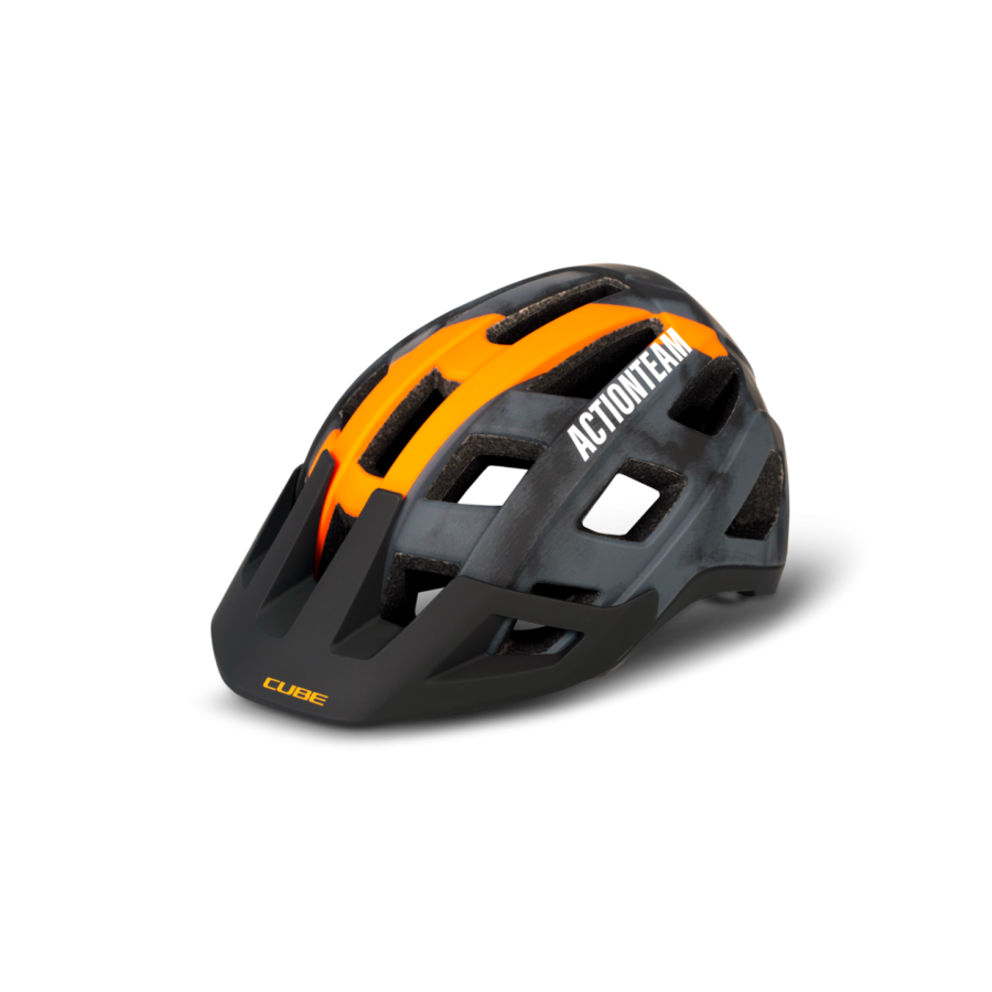 CUBE Helmet BADGER X Actionteam