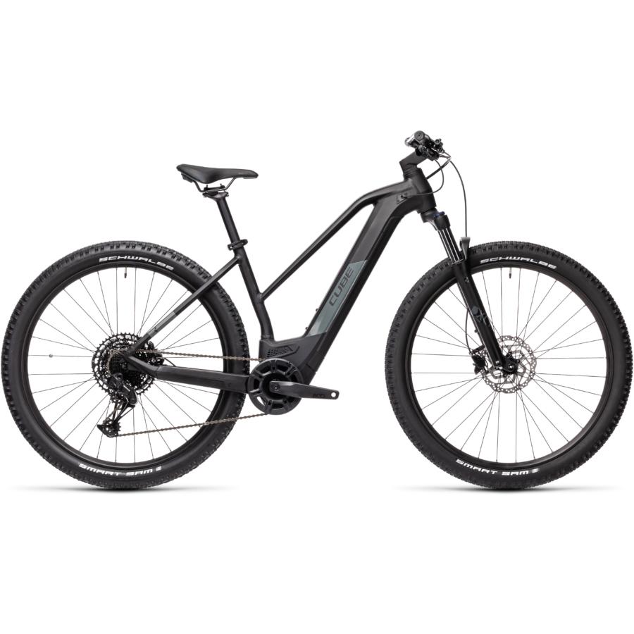 CUBE REACTION HYBRID PRO 625 TRAPÉZ black´n´grey Női Elektromos MTB Kerékpár 2021