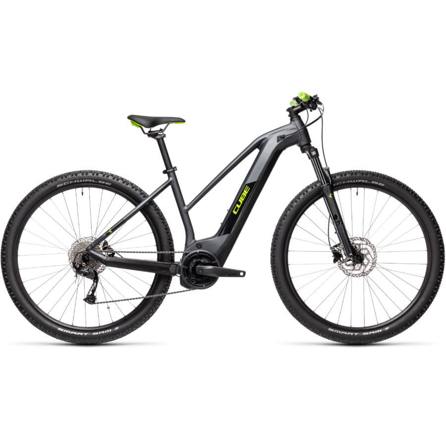 Cube Reaction Hybrid Performance 625 TRAPÉZ iridium´n´green Női Elektromos MTB Kerékpár 2021