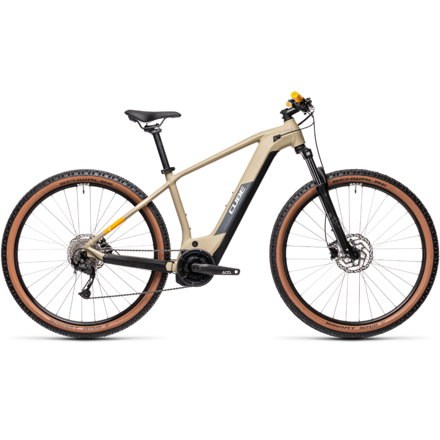 Cube Reaction Hybrid Performance 400 desert´n´orange Férfi Elektromos MTB Kerékpár 2021