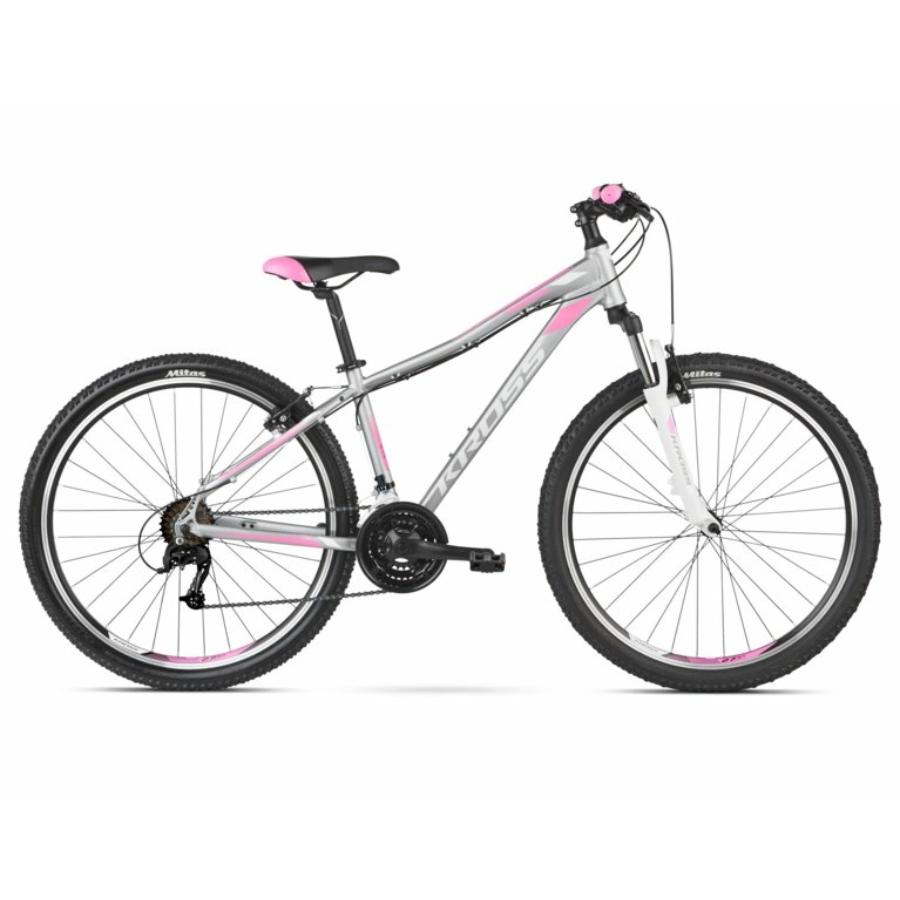 """KROSS LEA 2.0 27,5"""" silver / white / pink 2021"""