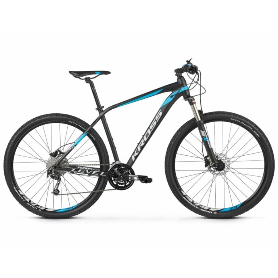 """KROSS LEVEL 4.0 27,5""""  black / blue / silver 2021"""