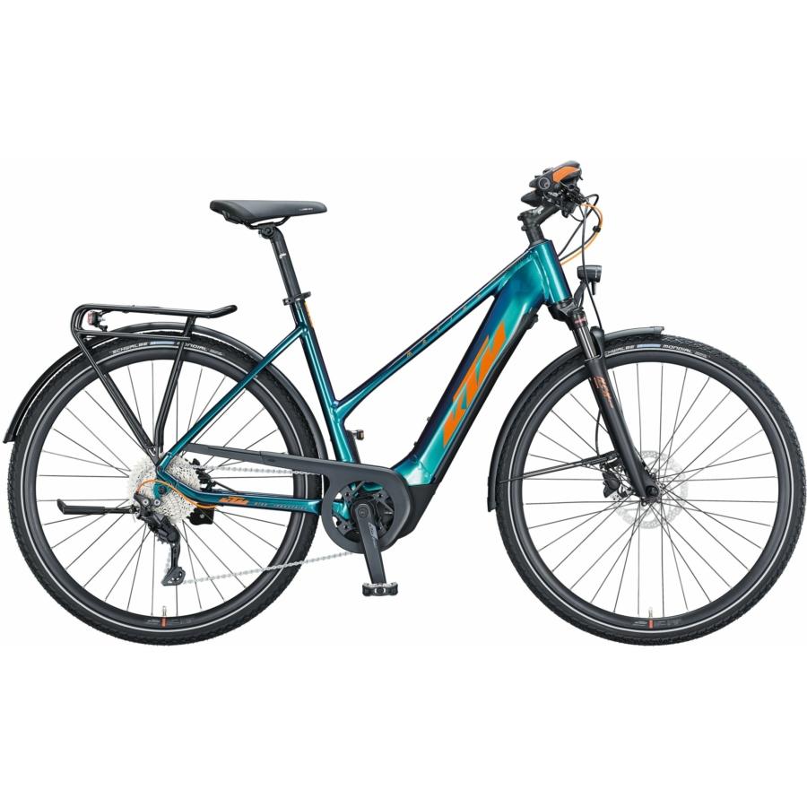 KTM MACINA SPORT 630 green purple flip (orange+black) Férfi Elektromos Trekking Kerékpár 2021