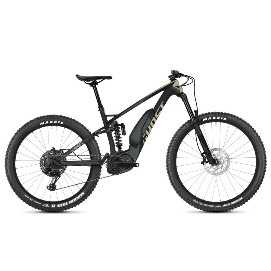 """Ghost Hybride SLAMR X S5.7+ LC Férfi Elektromos 29"""" Összteleszkópos Enduro MTB kerékpár - 2020 - E-BIKE"""
