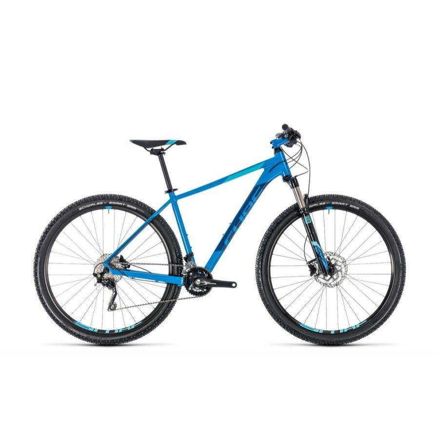 "CUBE ATTENTION SL AQUA´N´BLUE 2018 29"" MTB Kerékpár"