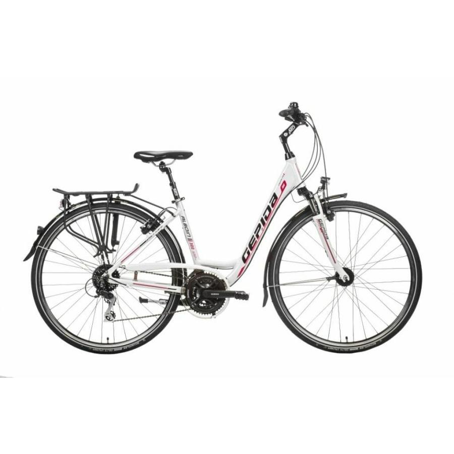 Gepida Alboin 300W női hidraulikus Magura fékkel 24s Trekking kerékpár