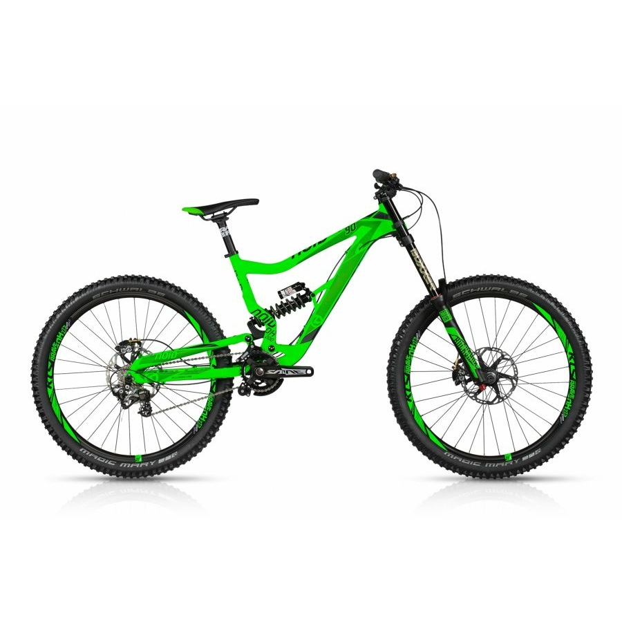 """Kellys NOID 90 2017 27,5"""" Összteleszkópos MTB Kerékpár"""